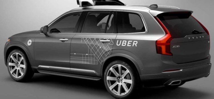 Uber pone 100 camionetas Volvo SUV autónomas en la carretera en Pittsburgh